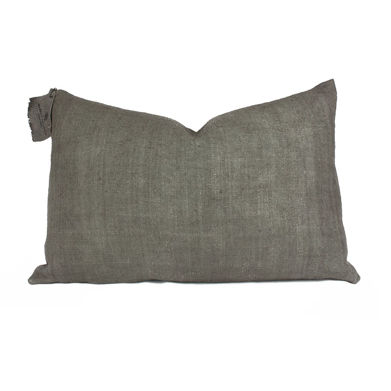 Coussin lin Ombre Isabelle YAMAMOTO - 55x35cm