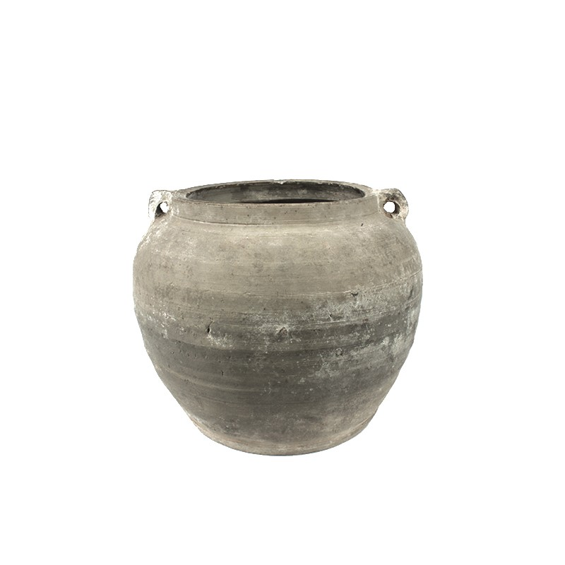 Poterie chinoise terre cuite - ø21xH18cm