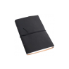 Carnet de voyage noir - 14x22,5cm